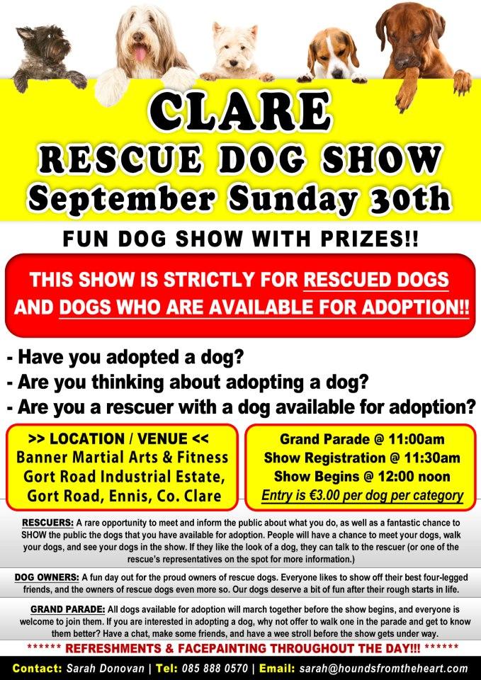 Clare Rescue Dog Show